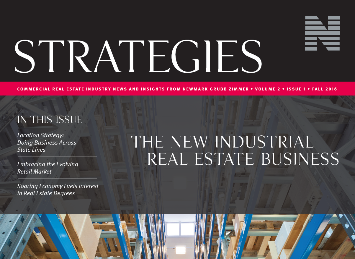 Newmark Grubb Zimmer Commercial Real Estate Strategies Newsletter Now Available