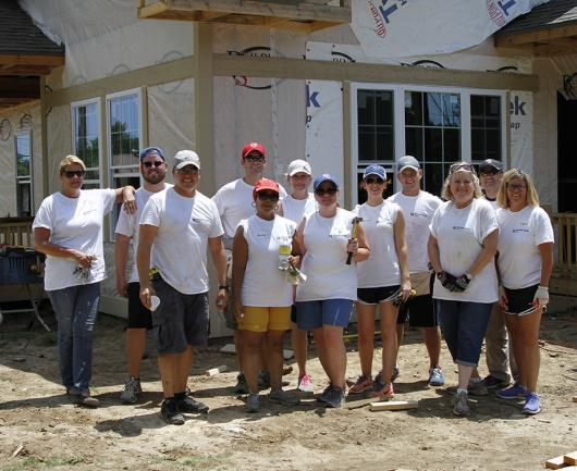 Newmark Grubb Zimmer Cares Habitat for Humanity Volunteer Work Day